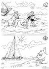 Disegno da colorare foca