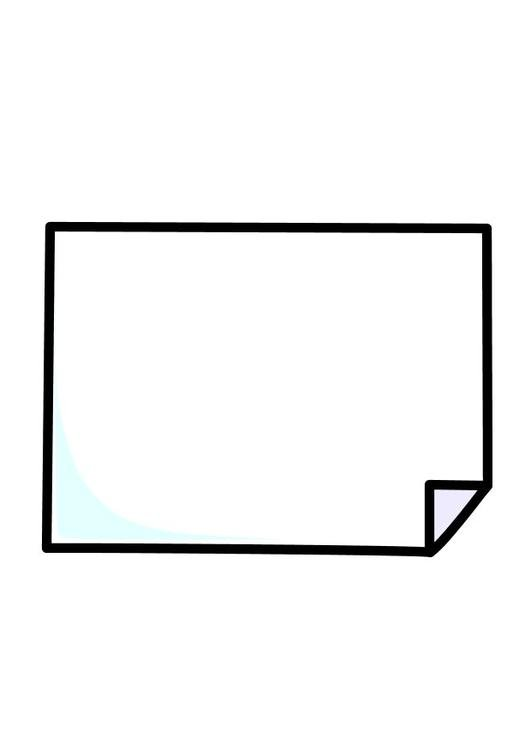 Disegno da colorare foglio di carta cat 10263 - Shamrock foglio da colorare ...