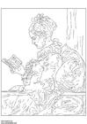 Disegno da colorare Fragonard