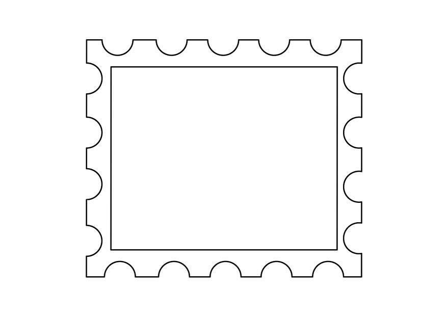 Disegno da colorare francobollo Cat 9889