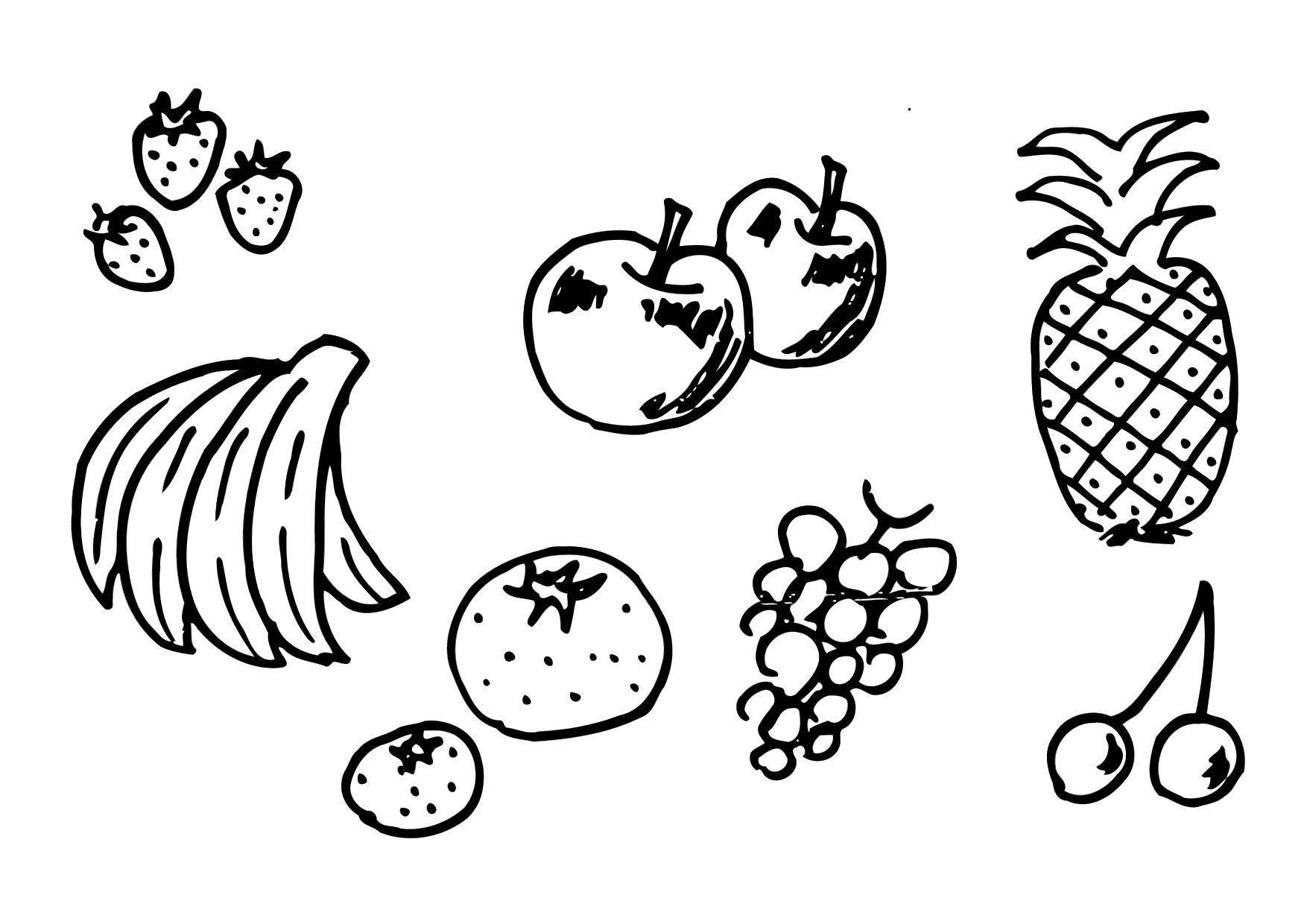 Disegno Da Colorare Frutta Disegni Da Colorare E Stampare Gratis Imm 12300
