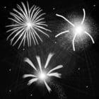 Disegno da colorare fuochi d'artificio