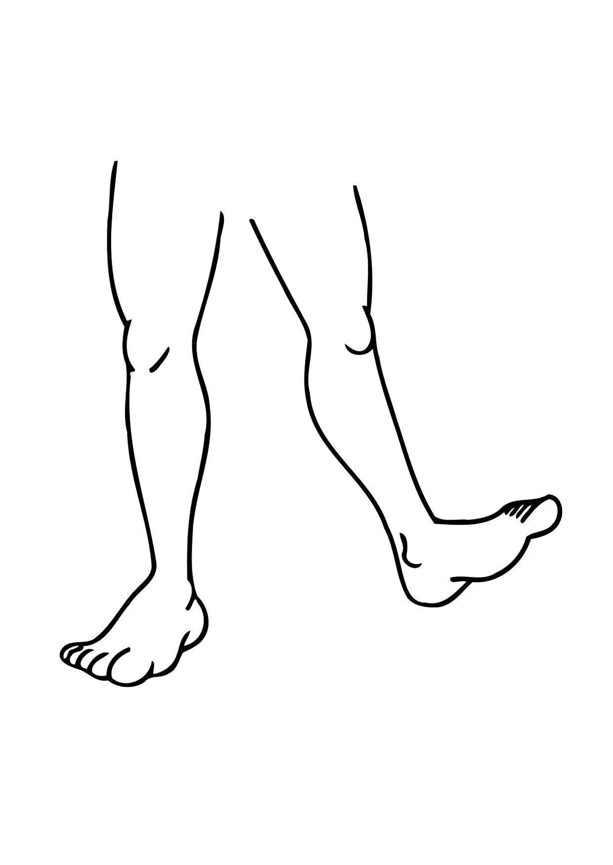 Disegno da colorare gambe cat 11476 images for Disegno pagliaccio da colorare