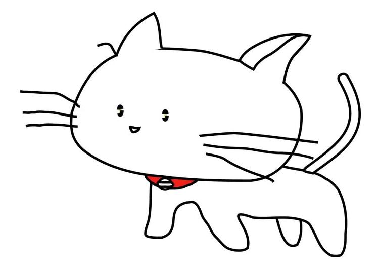 Disegno Da Colorare Gatto Cat 17449