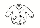 Disegno da colorare giacca