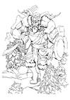 Disegno da colorare Gigante - gigante