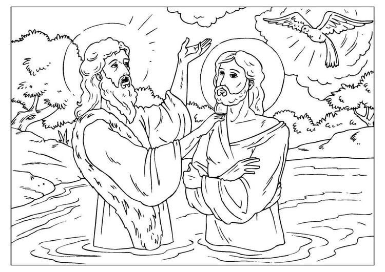 Disegno Da Colorare Giovanni Battista Cat 25914 Images