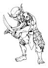 Disegno da colorare Goblin - terrestri
