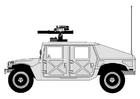 Disegno da colorare Hummer