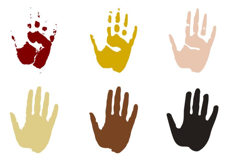 Disegno Da Colorare Impronte Di Mani Cat 27701
