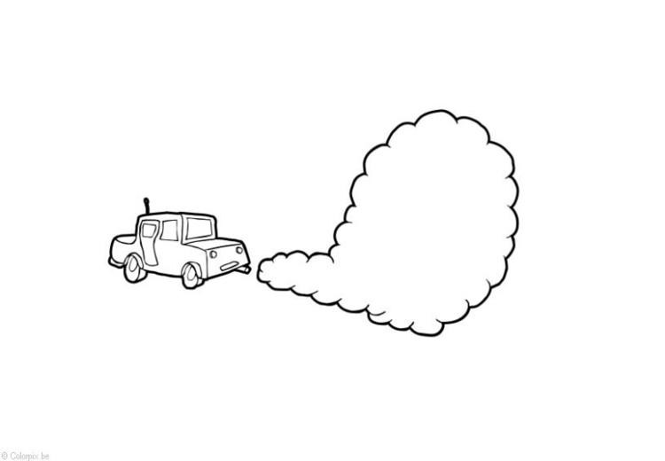 Disegno Da Colorare Inquinamento Dellaria Cat 14405