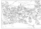 Disegno da colorare inverno - Abel Grimmer