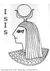 Disegno da colorare Isis