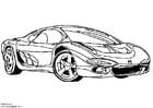 Disegno da colorare Isuzu prototipo