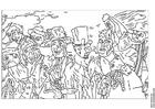 Disegno da colorare James Ensor