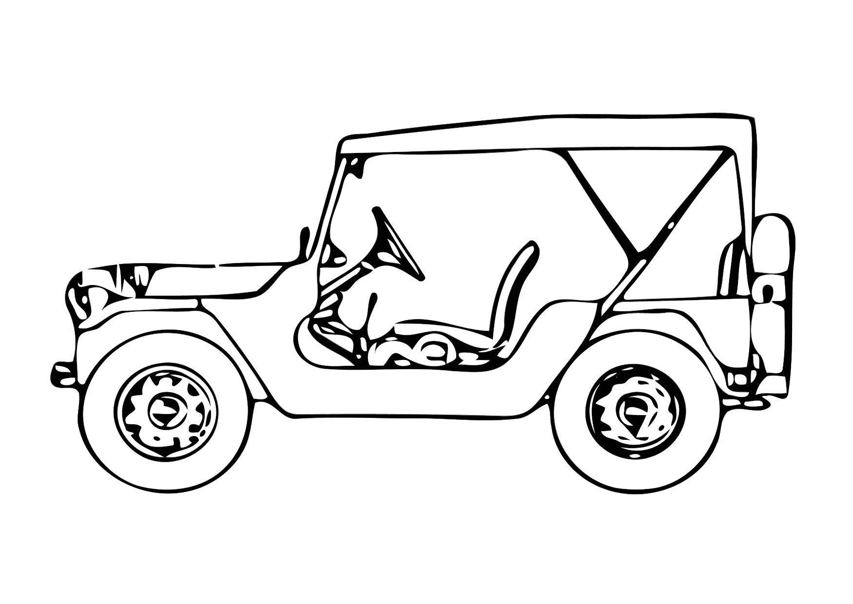 Disegno da colorare jeep cat 11327 for Jeep da colorare