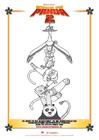 Disegno da colorare Kung Fu Panda 2