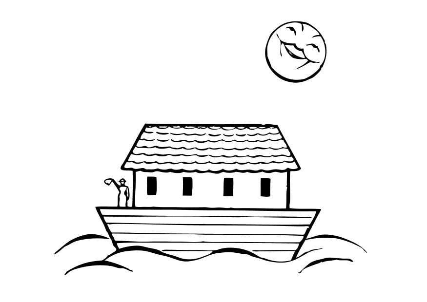 Disegno Da Colorare L Arca Di Noe Cat 10505
