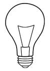 Disegno da colorare lampada