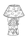 Disegno da colorare lampadario