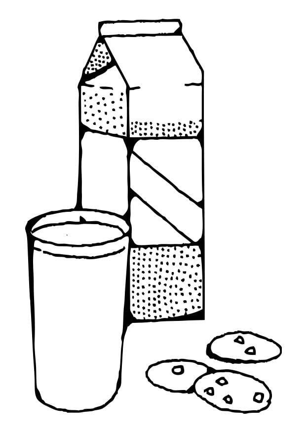 Disegno da colorare latte cat 17372 for Disegno vaso da colorare