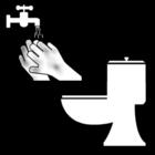 Disegno da colorare lavarsi le mani dopo essere andati in bagno