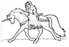 Disegno da colorare leocorno