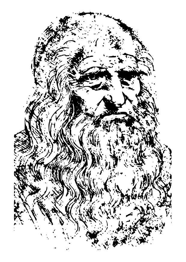 Disegno da colorare leonardo da vinci cat 22594 - Arte celtica colorare le pagine da colorare ...