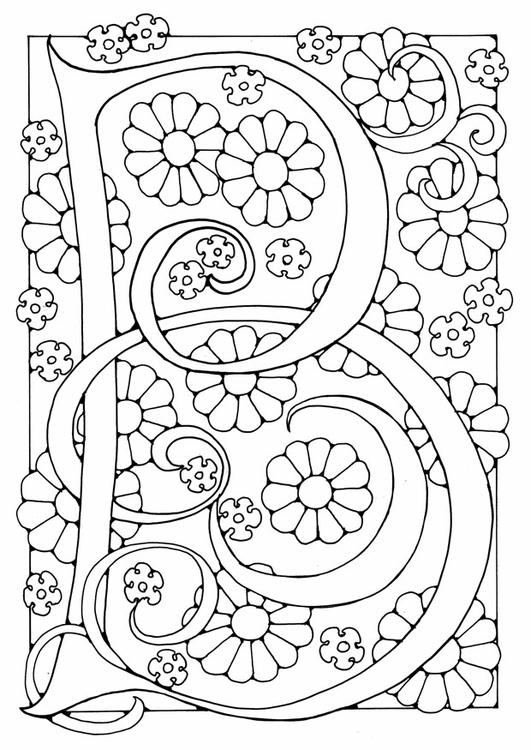 Disegno Da Colorare Lettera B Disegni Da Colorare E Stampare Gratis Imm 21887