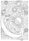 Disegno da colorare lettera - C