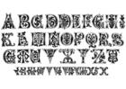 Disegno da colorare lettere 11 esimo secolo