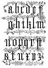Disegno da colorare lettere 16 esimo secolo
