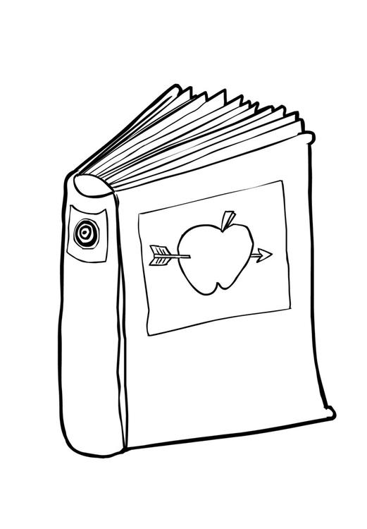 Disegno da colorare libro 2 cat 14843 - Libro da colorare elefante libro ...