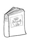 Disegno da colorare libro 2
