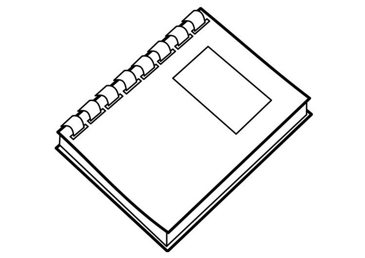 Disegno Da Colorare Libro Cat 18737