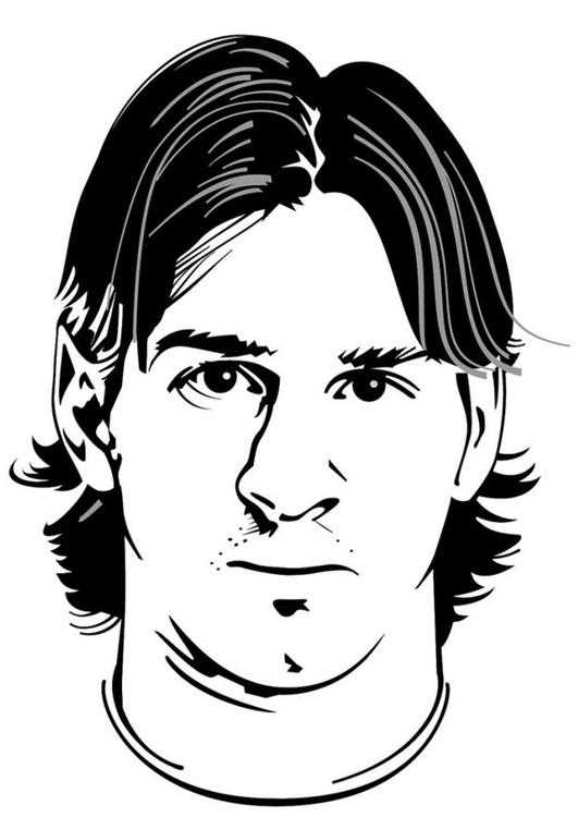 Disegno Da Colorare Lionel Messi Cat 24743 Images