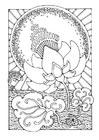 Disegno da colorare loto