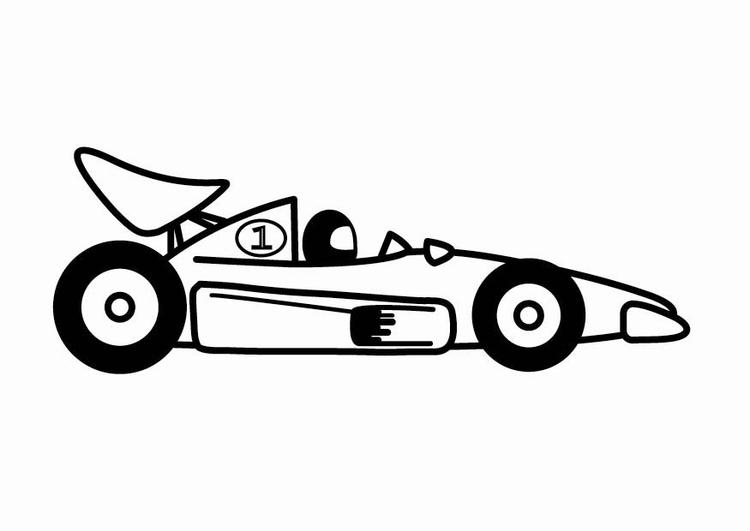 Disegno Da Colorare Macchine F1 Da Corsa Cat 24110 Images