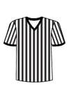 Disegno da colorare maglietta da arbitro