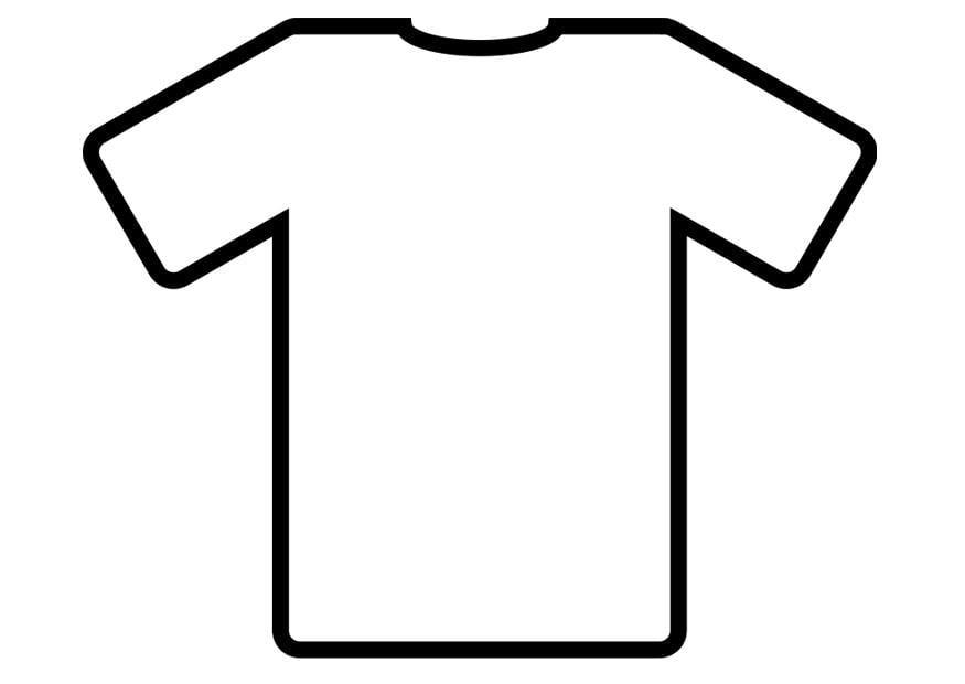 Disegno da colorare maglietta cat 19012 for Scarica clipart
