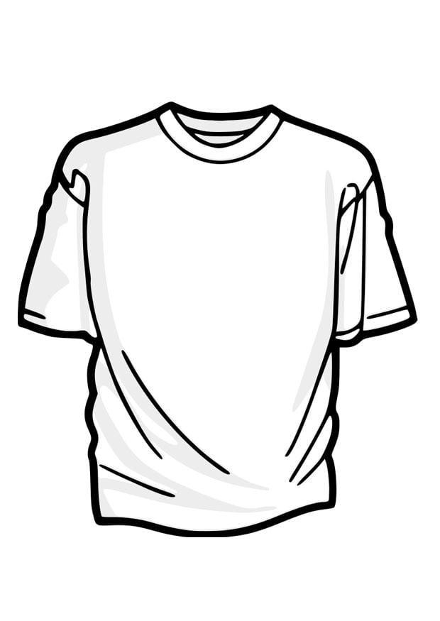 Conosciuto Disegno da colorare maglietta - Cat. 27879. FT91