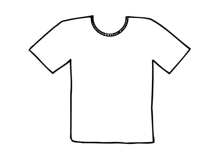 Favorito Disegno da colorare maglietta - Cat. 12295. TX06