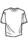Disegno da colorare maglietta
