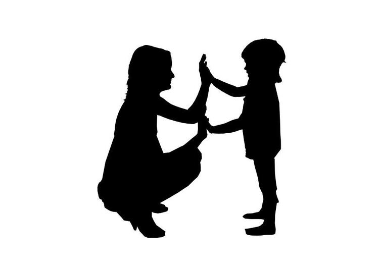 Mamma E Figlia Disegno.Disegno Da Colorare Mamma E Figlia Disegni Da Colorare E