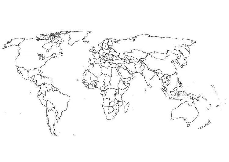 Disegno Da Colorare Mappa Del Mondo Disegni Da Colorare E Stampare Gratis Imm 15664