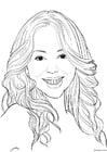 Disegno da colorare Mariah Carey