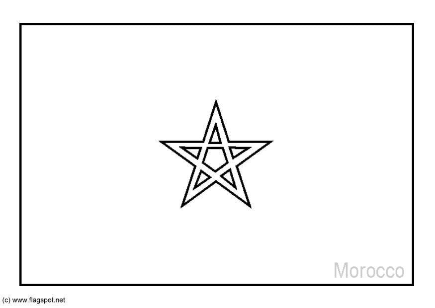 Cartina Marocco Da Colorare.Disegno Da Colorare Marocco Disegni Da Colorare E Stampare Gratis Imm 6205