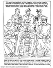 Disegno da colorare Marshall, Churchill, Roosevelt, Stalin, Portal