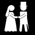 Disegno da colorare matrimonio