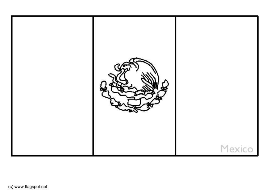 disegno da colorare messico cat 6357